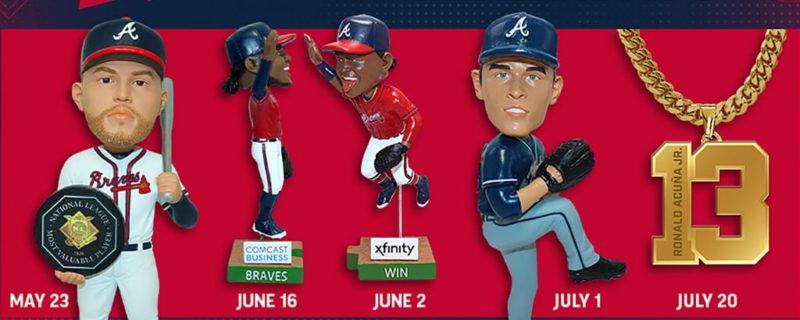 Atlanta Braves 2021 Giveaways