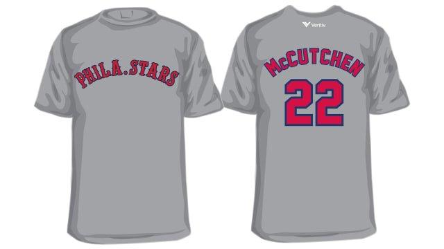 Philadelphia Phillies - Andrew McCutchen Philadelphia Stars T-Shirt