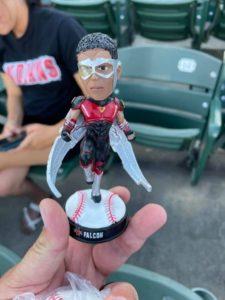 Falcon Indianapolis Indians Bobblehead