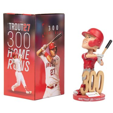 Los Angeles Angels - Trout 300 HR Bobblehead