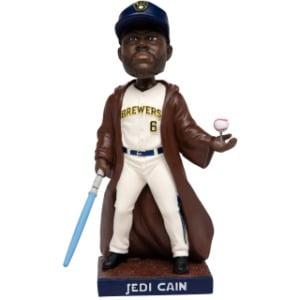 Milwaukee Brewers - Lorenzo Cain Jedi bobblehead