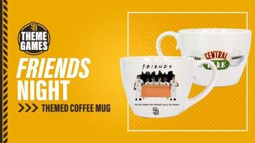 San Diego Padres - Friends Themed Coffee Mug