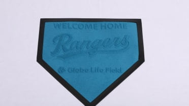 Texas Rangers - Welcome Home Mat