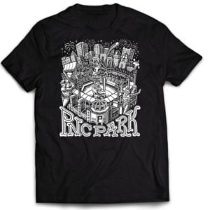 September 10, 2021 Pittsburgh Pirates - Free Shirt Friday