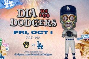 Dia de Los Dodgers Bobblehead